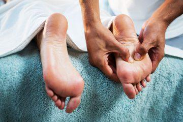 Fußreflexzonen - Therapie